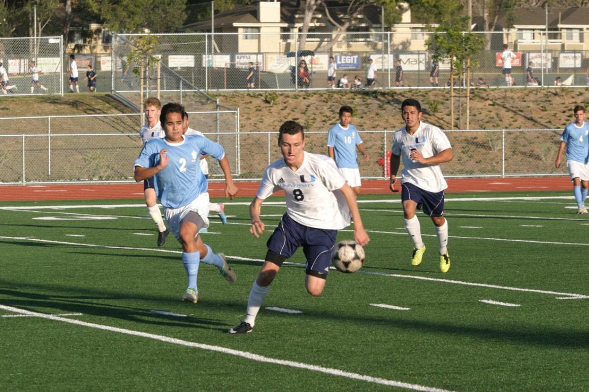 UHS boys soccer team kicks off league season