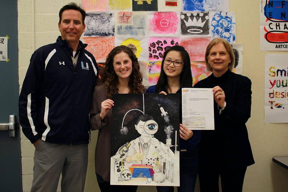Anna Tao wins OCSEF art competition
