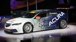 The new 2015 Acura.  (Kimberly P. Mitchell/Detroit Free Press/MCT)