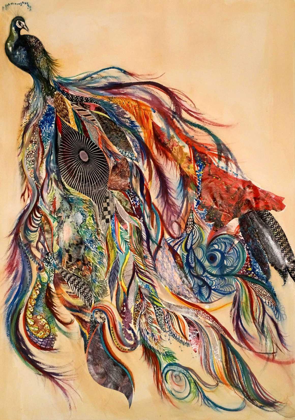 Peacock: an illustration