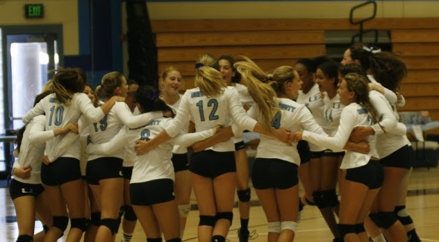 Girls Volleyball defeats Calvary Chapel 3-1 with spike after spike