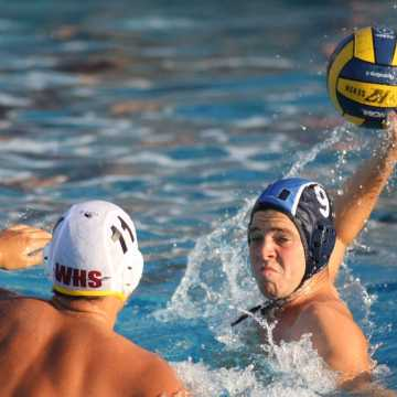 Boys Water Polo plays a close game, loses to Woodbridge 4-6