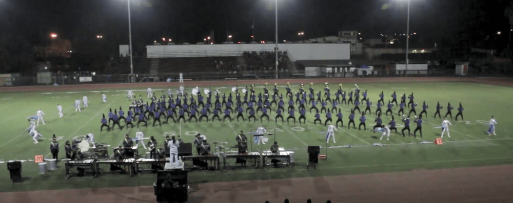UHS Marching Band places 1st at Los Altos Competition, completes undefeated season