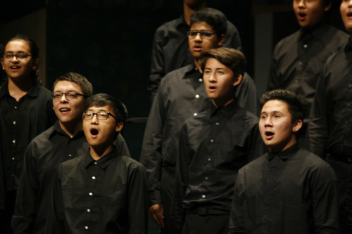 Choir performs first concert of the year