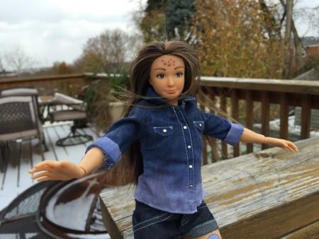 Lammily Dolls: the average Barbie