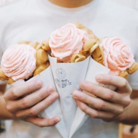 cauldron rose ice cream