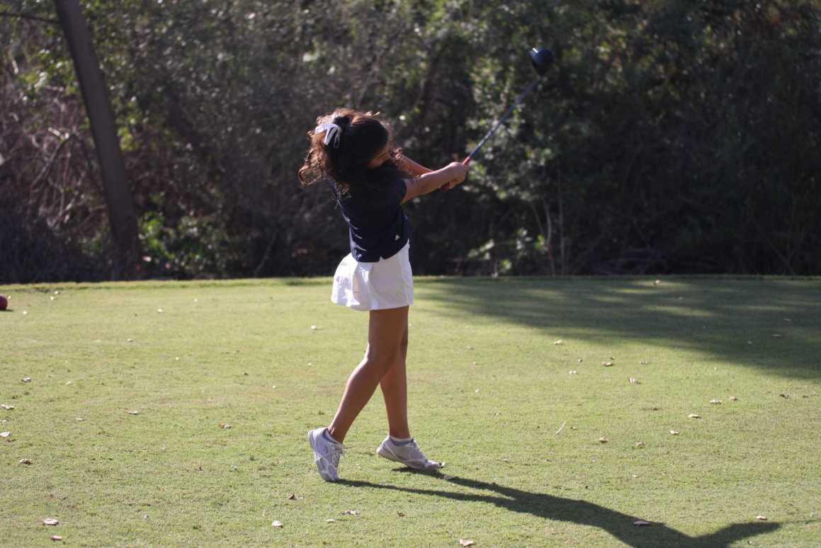 Girls Golf wins final game and league