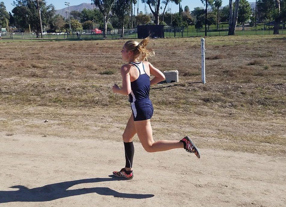 Cross Country star Cecilia Langlois competes at CIF Southern Section Finals