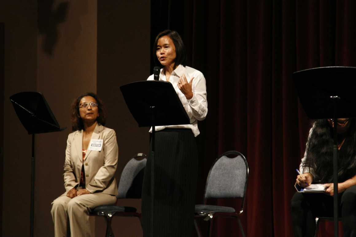 School Board candidates participate in UHS's first Candidates Forum