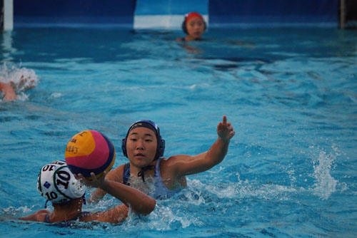 Girls Water Polo loses tough match against Irvine