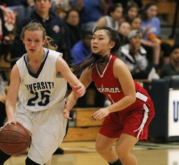 Girls Basketball beats Beckman in league opener