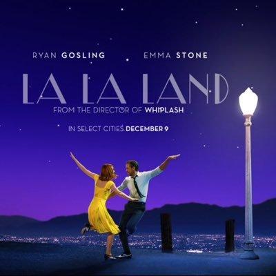 La La Land movie poster (Google).