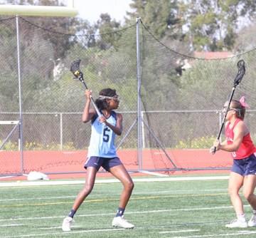Girls Lacrosse drops league opener to Beckman 12-9