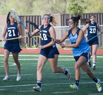 Girls Lacrosse wins against Northwood