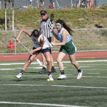 Girls Lacrosse dominates Irvine 19-2