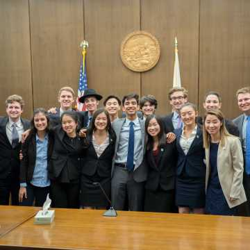 Mock Trial Team Blue wins County Finals for the first time in UHS history
