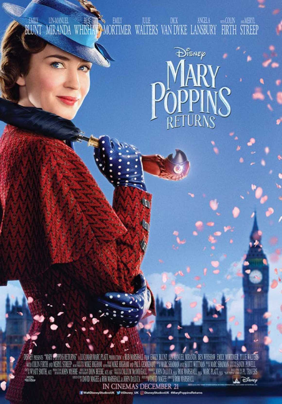 Movie review: 'Mary Poppins Returns,' Emily Blunt is delightful in sweet, nostalgic sequel
