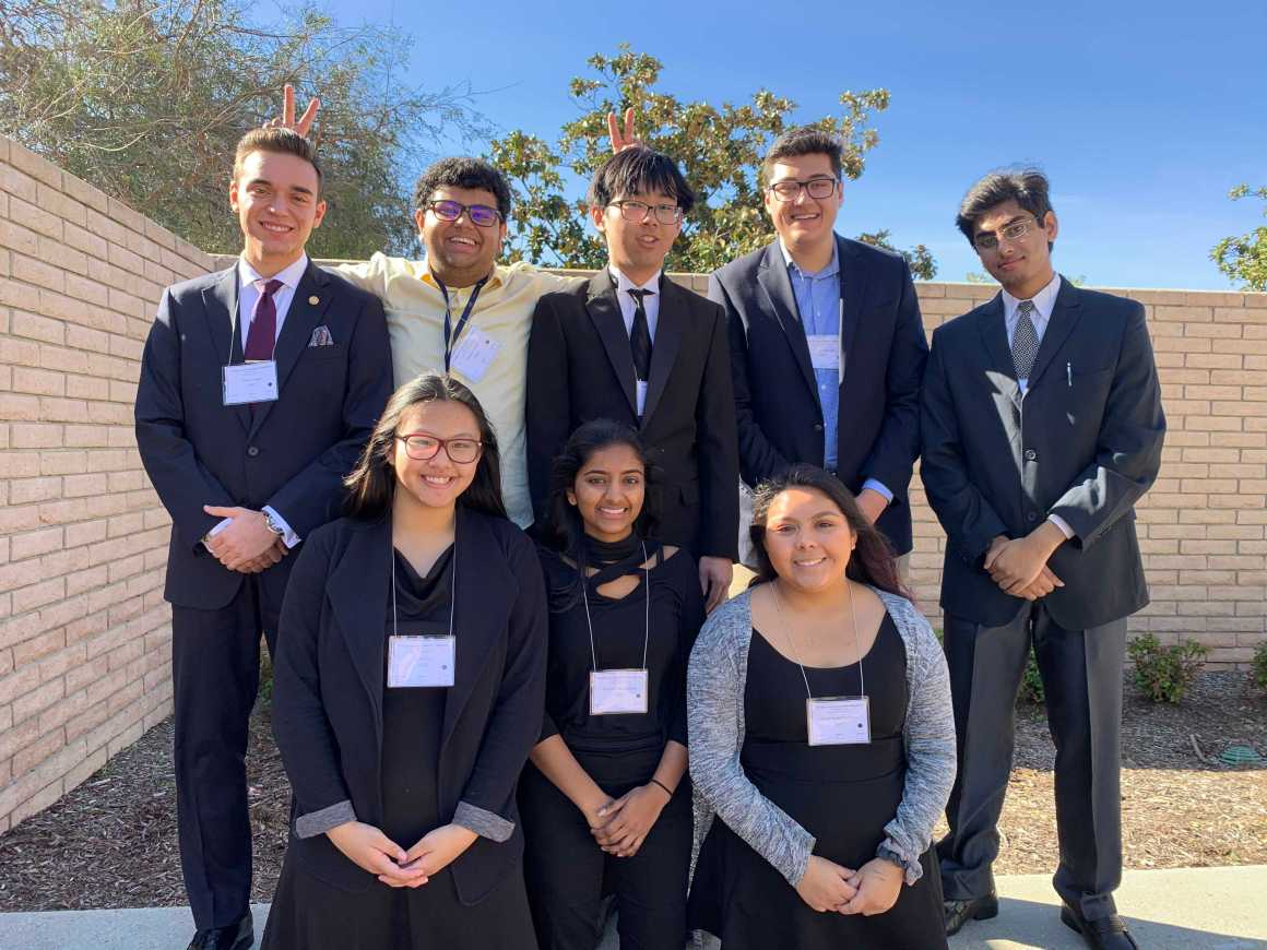 UHS AcaDeca team qualifies for second consecutive state competition