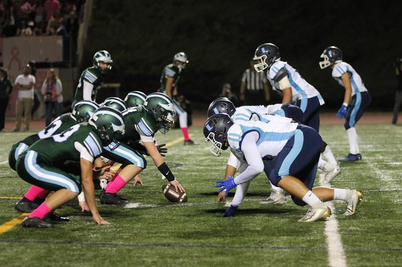 Football Fights Hard But Falls to Irvine