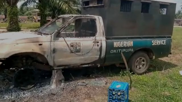 Attack on Nigeria Correctional Service Ondo State