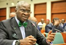 Minister of Works, Mr. Babatunde Raji Fashola