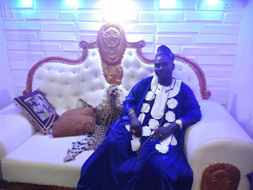 Araba Agbaye, His Eminence Owolabi Aworeni