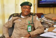 Ogun State Commandant of the So-Safe Corps, Mr. Soji Ganzallo