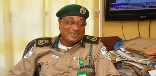 Ogun State Commandant of the So-Safe Corps, Mr. Soji Ganzallo