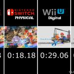 マリオカート8 デラックス ロード時間比較動画が公開