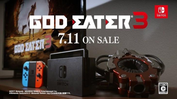 ニンテンドースイッチにゴッドイーター3が登場 プロデューサーが発売の経緯を語る