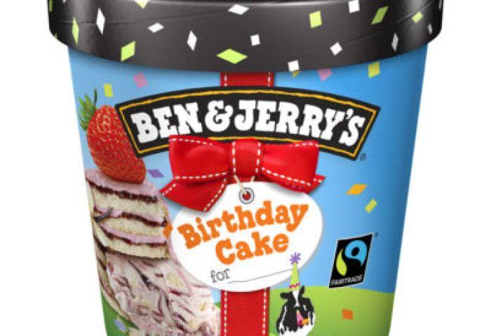 Ben Jerrys Birthday Cake Ice Cream Dessert Asda Groceries