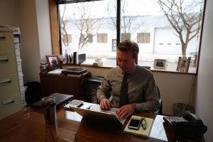 insurance agent working in office - insurance agent working in office