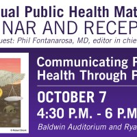 Student Work Featured in NPHR's Annual Public Health Matters Seminar