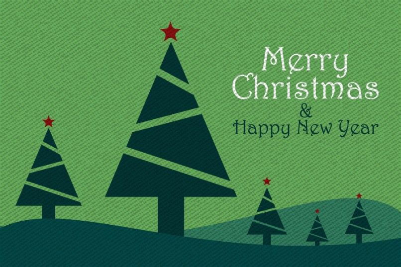 Christmas and new year greetings images free reviewwalls 5 free vintage merry christmas and happy new year greetings cards m4hsunfo