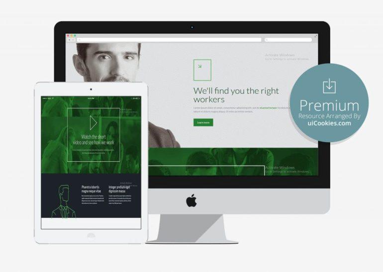 BeTheme - Bootstrap HTML5 Recruitment Website Template