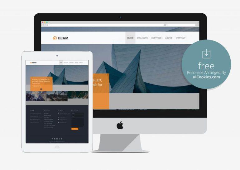 Beam - Best Industrial Website Design Template