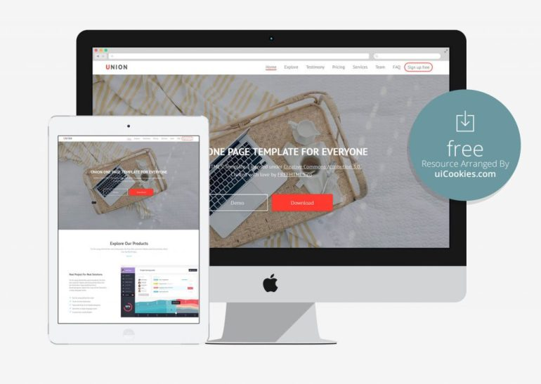 100 best free html5 responsive bootstrap templates union html5 css3 bootstrap 3 free template maxwellsz