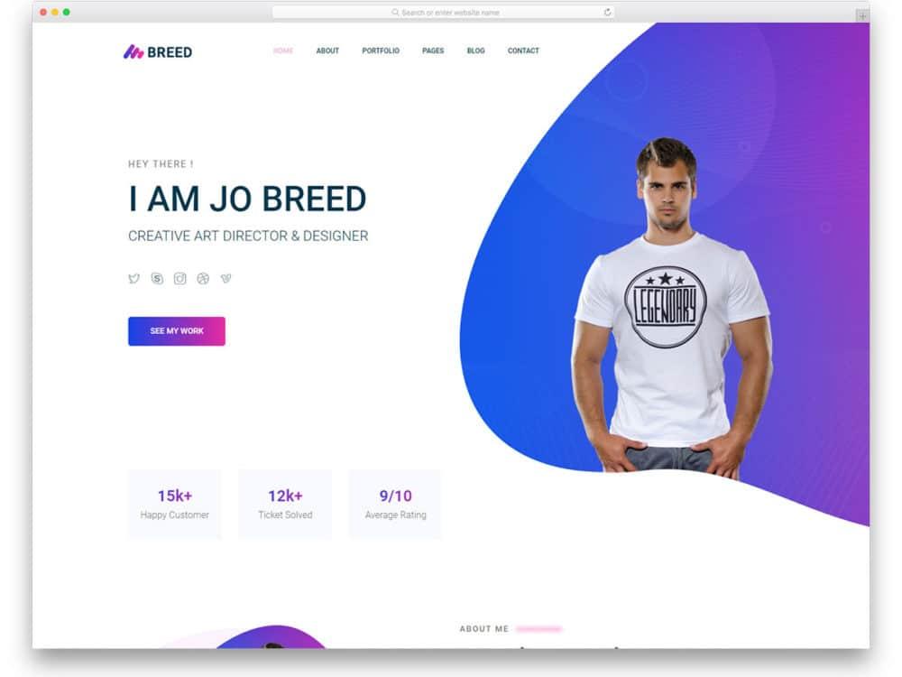 15/03/2018· this portfolio template is good for a ux design freelancer. 45 Free Portfolio Website Templates For All Creative Professionals 2021