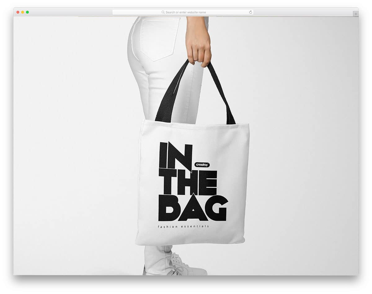 By design syndrome in templates. 45 Tote Bag Mockups For Designers And Small Store Owners Uicookies