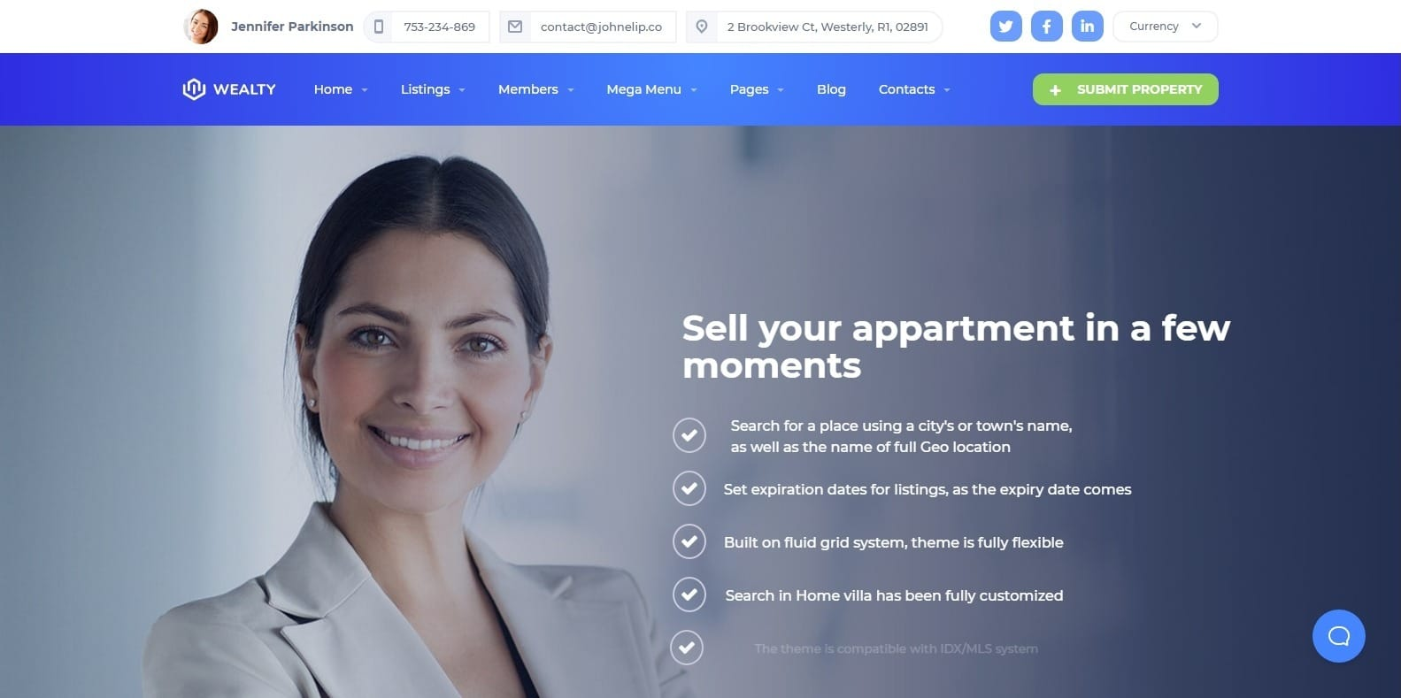 It also makes your website fully responsive and highly reliable. 15 Professional WordPress Mortgage Broker Website Template For 2020