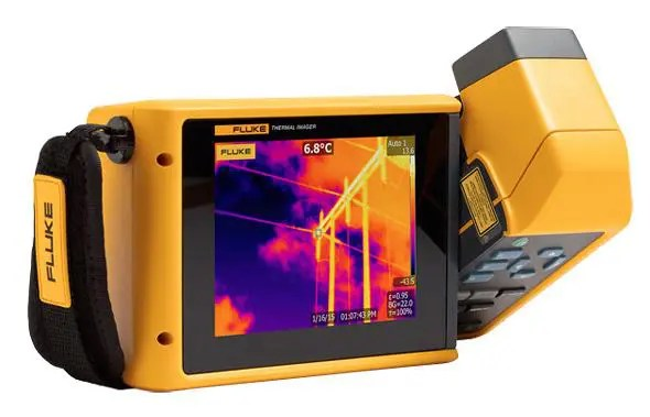 Detect hidden cameras by thermal imager
