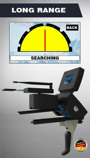 long range search system titan ger 1000