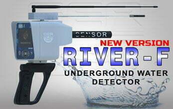 river f long range water finder