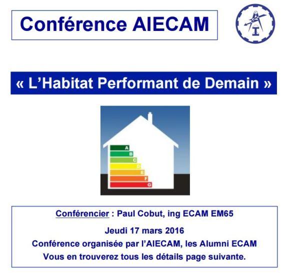 Conférence AIECAM 17-03-2016