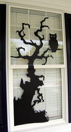 window-silhoulletes