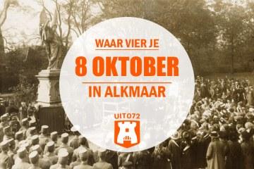 Waar vier je 8 oktober in Alkmaar