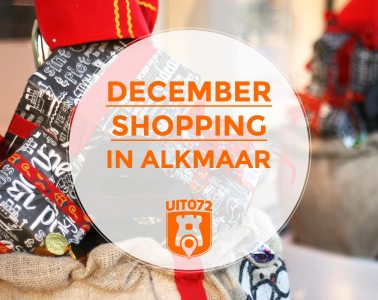 December shopping in Alkmaar