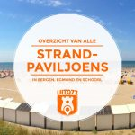 Alle 20 strandpaviljoens in 072