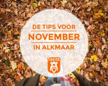 Tips november Alkmaar