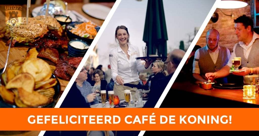 Gefeliciteerd Café de Koning